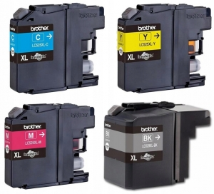4x TUSZ BROTHER DCP-J100 DCP-J105 LC529XL LC525XL